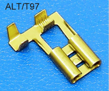 6.35mm ****FLAG TYPE**** FEMALE UN-INSULATED TERMINALS